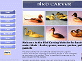 Birdcarver bird carvings