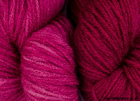 BFL superwash wool dyed with lac natural dye extract | Wild  Colours natural dyes