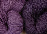 2 shades from logwood natural dye extract