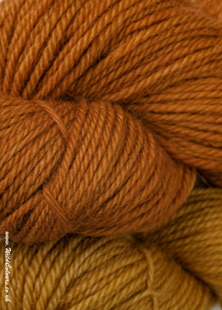 Wool dyed with Madder Extra extract
