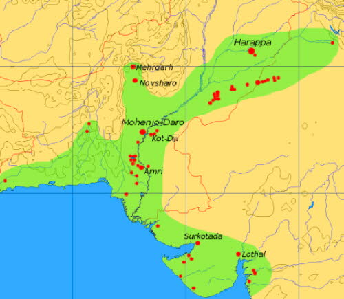 Harappan Civilisation in Indus Valley
