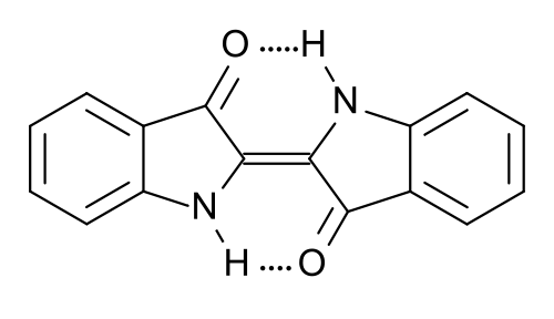 Indigo chemical structure